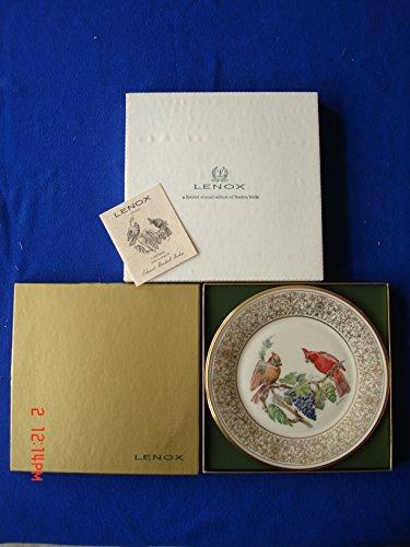 "Lenox/Boehm Birds Plate ""The Cardinal"" 1976 (New-Mint)"