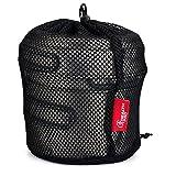 HealthPro-Titanium-Lightweight-3-Piece-Pot-and-Pan-Camping-Hiking-Cookware-Set