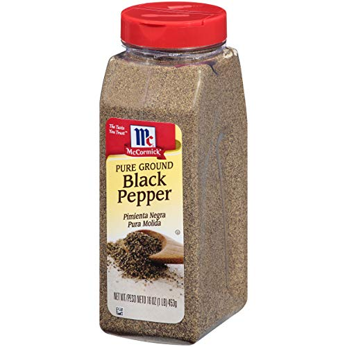 (McCormick Pure Ground Black Pepper, 16 oz)