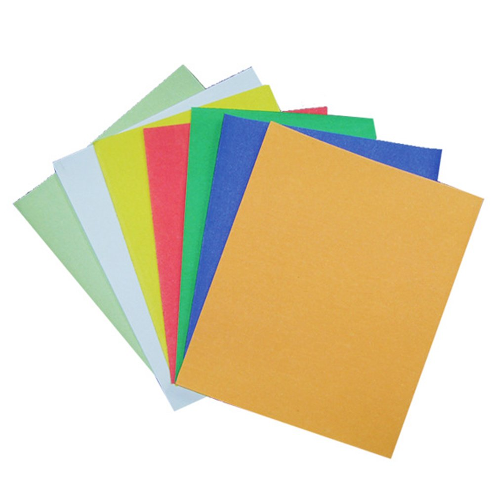 ueetek 3  m 11  * 9.1  inch Wet/Dry Polishing Paper Abrasive Sanding Colourful Assorted Package of 10  Pieces (Random Color)