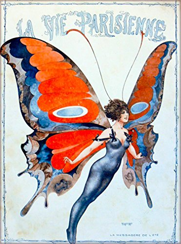 A SLICE IN TIME 1920s La Vie Parisienne La Messagure for sale  Delivered anywhere in USA