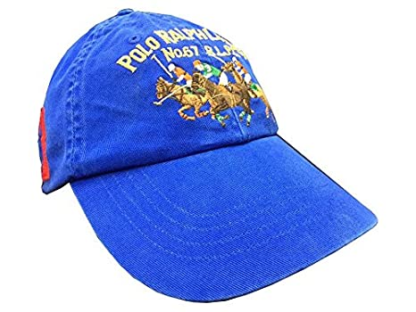 9ee7c05a02913 Ralph Lauren POLO Blue  LIMITED EDITION  No 67 Baseball Cap  Amazon.co.uk   Clothing
