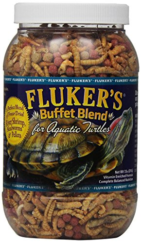 Fluker's Buffet Blend Aquatic Turtle Food , 7.5-Ounce (Turtle Sulfa Block)