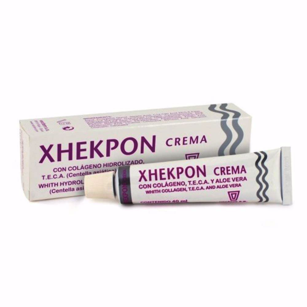 Amazon.com: Health & Beauty Xhekpon Crema Antiarrugas - Colageno Cara Cuello Escote 40ml: Health & Personal Care