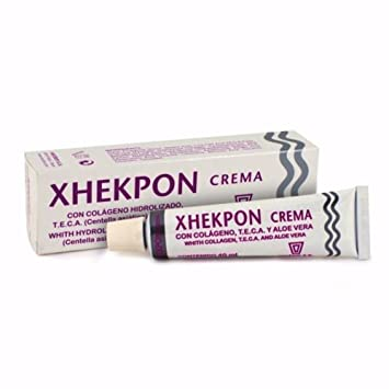 Xhekpon Crema Antiarrugas - Colageno Cara Cuello Escote 40ml Treatment Beauty Skin