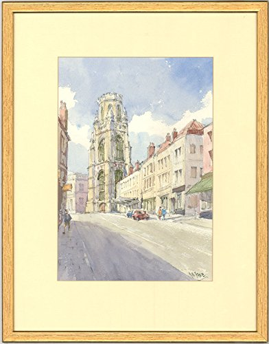Bristol Memorial - Sulis Fine Art Anthony V. Pace - Signed 2010 Watercolour, Wills Memorial Building, Bristol