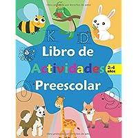 Libro de actividades preescolar: libro de Actividades en Casa 2-4 años, Aprender a repasar lineas, aprender a escribir…