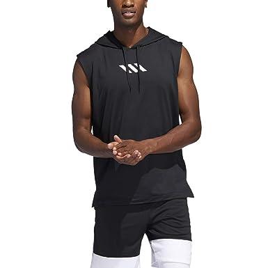 76118418 Amazon.com: adidas Men's Pro Madness Basketball Hoodie: Clothing