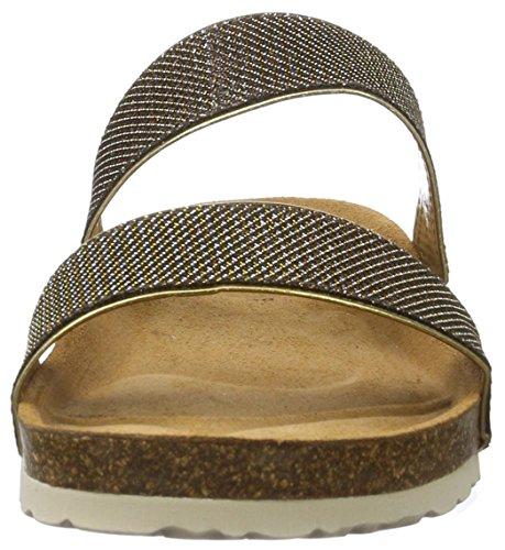 Gabor Home 100040dof, Women's Open Toe Sandals Braun (Deve Marron)