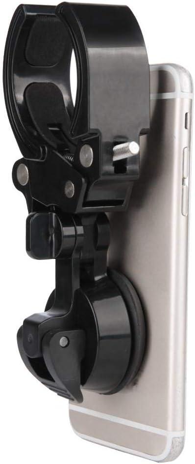Soporte para Tel/éfono Telescopio Ocular de Alcance de Binoculares Monoculares Adaptador Universal para Tel/éfono M/óvil Soporte para Tel/éfono Soporte