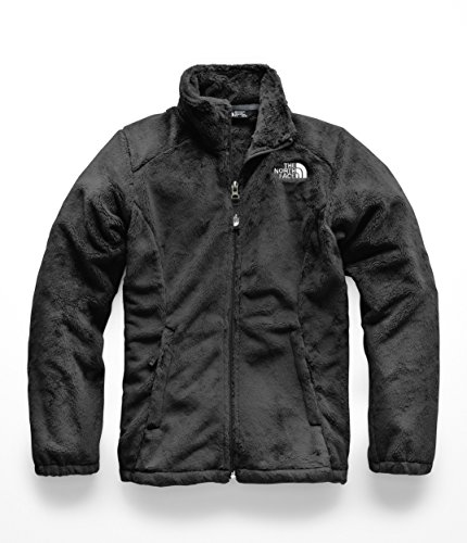 The North Face Kids Girl's Osolita Jacket (Little Kids/Big Kids) TNF Black MD (10-12 Big Kids) (Youth North Face Ski Jacket)