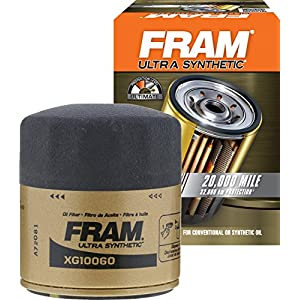 FRAM XG10060 Ultra Synthetic Spin-On Oil Filter with Sure Grip