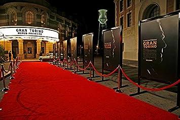 HOLLYWOOD PARTY RED CARPET RED CARPET FLOOR RUNNER SCENE SETTER UK SELLER