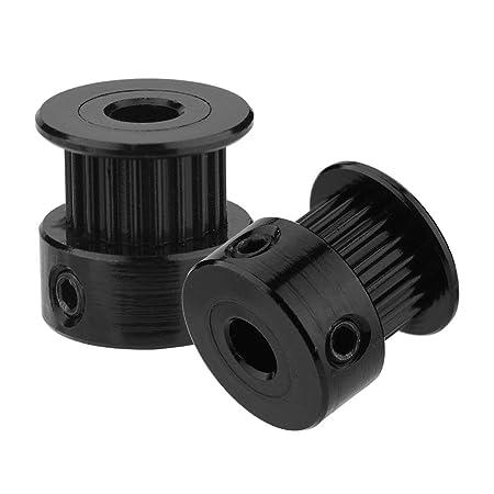 Rueda sincrónica Impresora 3D GT2 Polea de correa dentada, 5 ...