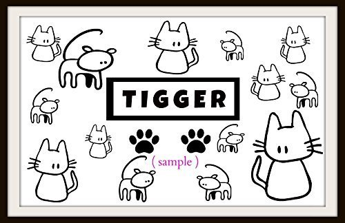 Personalized Cat Food Placemat laminated floor mat non skid back by ART and Decorations