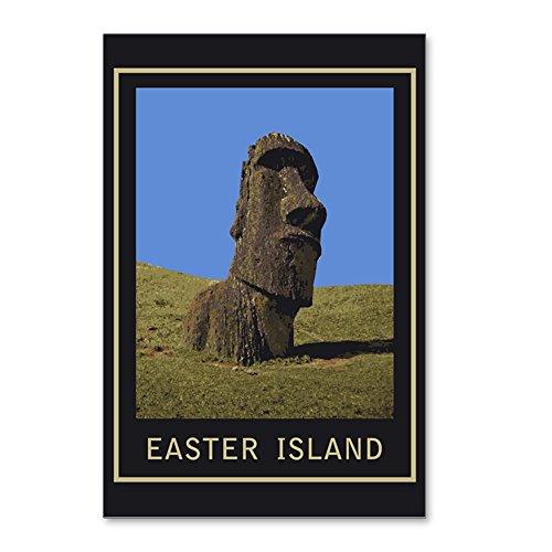 Postcard Easter (CafePress - Easter Island Moai - Postcards (Package of 8), 6