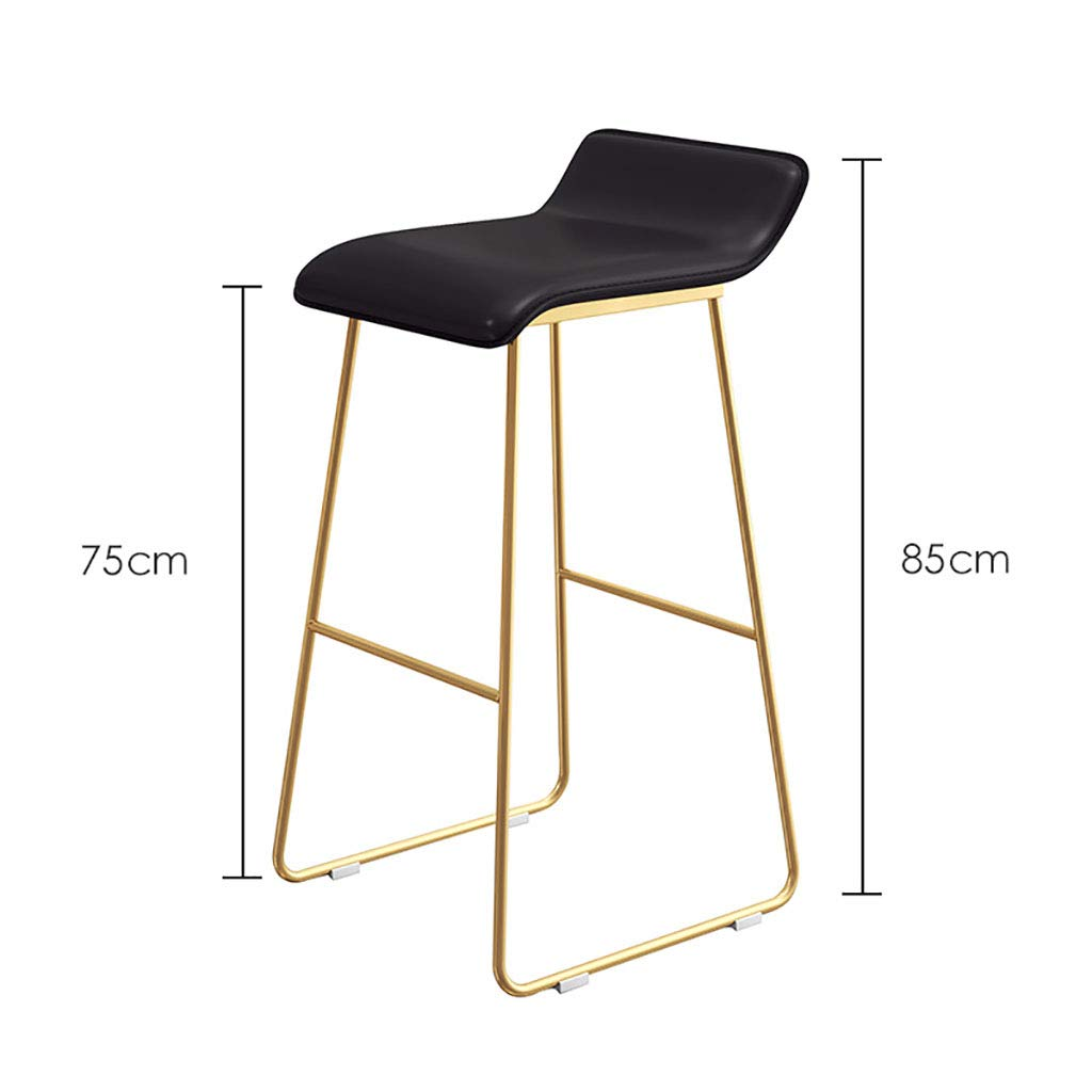 Amazon.com: Iron Art Barstools Chair Footrest High Stool ...