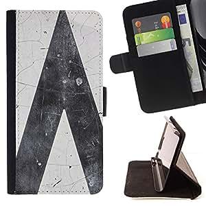 ForSamsung Galaxy S3 MINI i8190 (NOT S3) Case , Grigio - la tarjeta de Crédito Slots PU Funda de cuero Monedero caso cubierta de piel