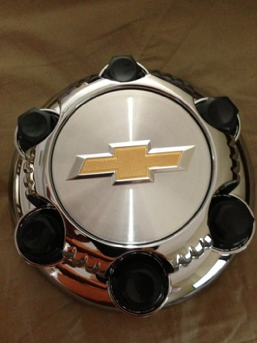 16 17 Inch OEM Chevy 6 Lug Chrome Plated Center Cap Hubcap Wheel Cover, 1999-2013 # 22837059 5129 5223 5129C Silverado Avalanche Express Suburban Tahoe Astro 1500 Truck Van Suv