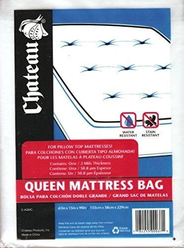 Chateau Mattress Bag for Queen Pillow-Top ()