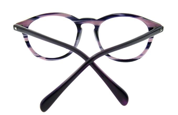 OCCI CHIARI W-COGHI Occhiali da Vista Non Graduati Rettangolo Montatura Metallo con Spring Hinge Decorativo Donna 6AVTmNsZ