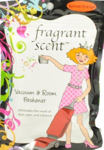Orange Bagless Vacuum (Fragrant Scent Vacuum Cleaner Crystals Spiced Orange)