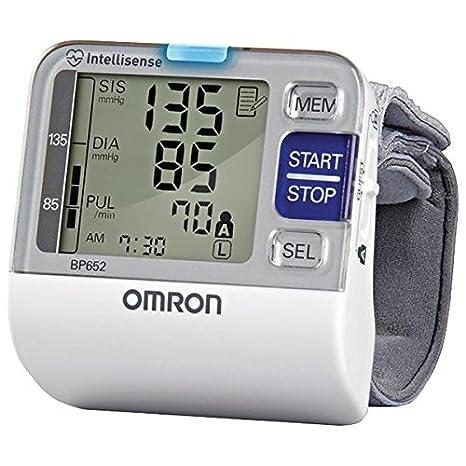 Omron BP652 Muñeca Automático 1usuario(s) - Tensiómetro (AA, LCD)