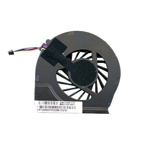 Desconocido Ventilador de CPU para HP Pavilion g6-2111us g6-2112he g6-2116nr g6-2120nr g6-2122he g6-2123us g6-2129nr g6-2132nr g6-2164ca g6-2188sa g6-2208ca g6-2210us g6-2211nr g6-2213nr: Amazon.es: Informática