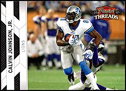 4f17ea5a Amazon.com: 2010 Panini Threads #47 Calvin Johnson Jr. NM-MT Detroit ...