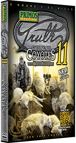 Primos Hunting The Truth 11 Calling All Coyotes DVD with Randy Anderson from Primos Hunting