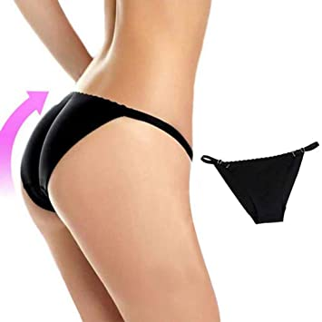 3c3af7eaa Amazon.com  OppoLing Woman Fake Ass Padded Panties Women Body Shaper ...