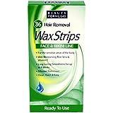 Beauty Formulas Hair Removal Wax Strips - Face & Bikini Line