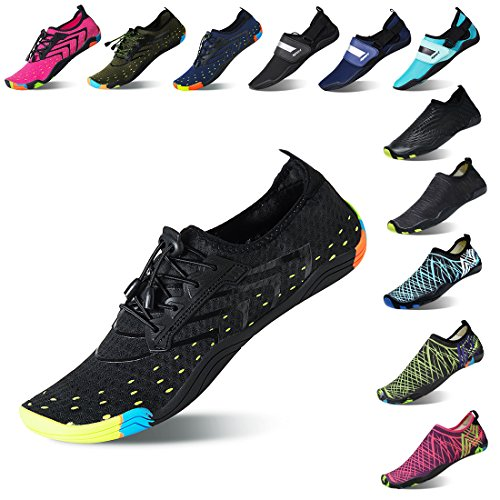 Quick Aqua Women Yoga Dry Shoes Men Barefoot Water Exercise Sock Lauwodun Beach Black Running Surfing for x01qXdwH