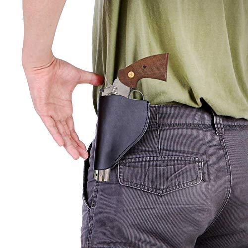 Gexgune Chasse Fournitures Holster Tactique Cool dans Accessoires pour Armes à feu Cuir véritable Chasse Holster… 2
