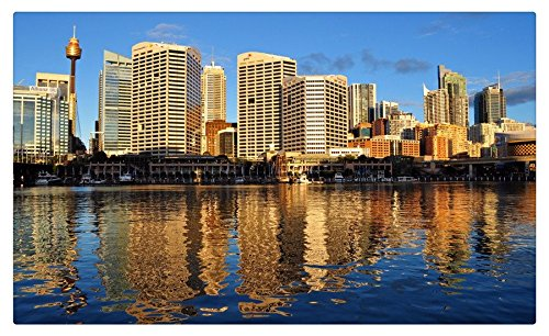 australia-skyscrapers-rivers-houses-sydney-cities-travel-sites-postcard-post-card