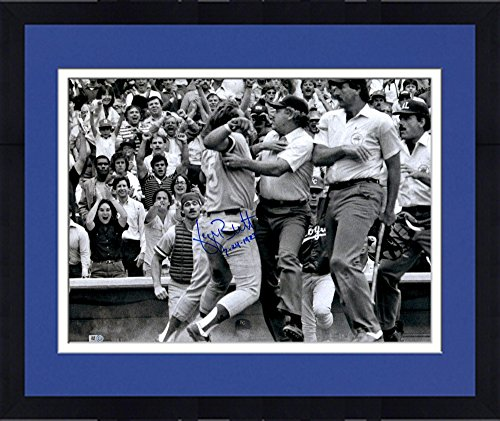 Framed George Brett Kansas City Royals Autographed 16