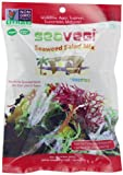 Seasnax/Naturesnax Seawd Snak, Veg Salad Mix, 0.90 Ounce (Pack of 12)