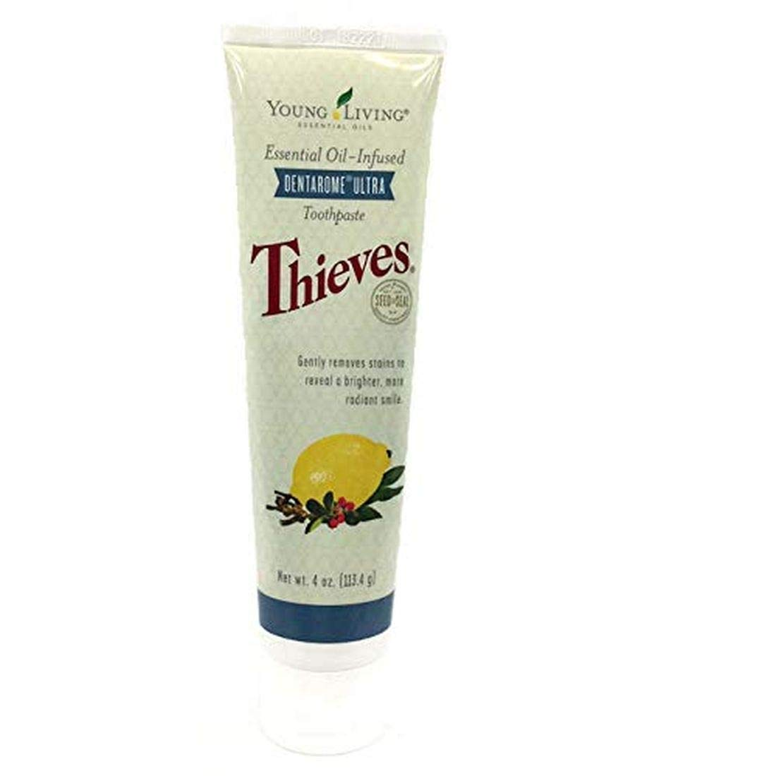 Young Living Thieves Dentarome Ultra Toothpaste with Xylitol, 4.1 oz