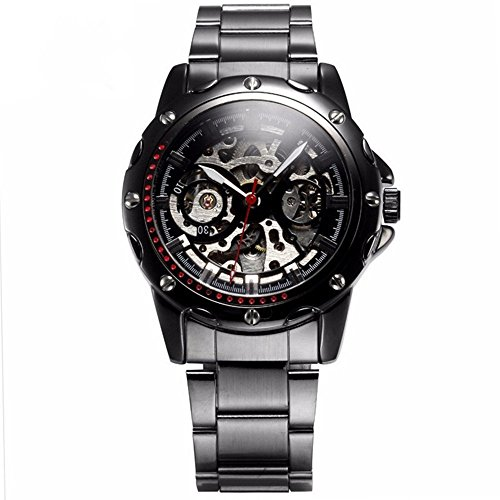 Men, mechanical watches, automatic, commercial, simple, metal, - Commercial Sunglasses Tv