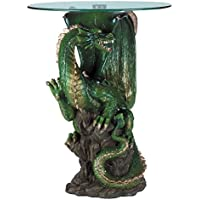 Koehler SS-KHD-34738 24 Green Collectible Dragon Table