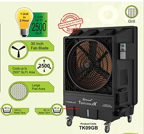 Nuspak Industrial & Tent 90 litres Air Cooler 30″fan