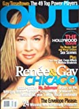 "OUT Magazine February 2003 (Featuring: Lesbian Sex Scenes~ ""chicago"" & Renee Zellweger, Volume No. 111)"