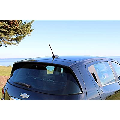 AntennaMastsRus - 8 Inch Screw-On Antenna is Compatible with Mazda 3 (2004-2020): Automotive