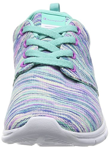Coupe Vrai 2 De Chaussures Vert meadowbrook Multicolor Chaussures Course Mehrfarbig Femmes bas Champion 2558 5tyBAqw