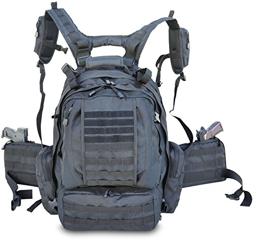 Explorer Tactical 3 Day Military Tactical Combat Assault Pack Molle Bug Out Bag Backpack for Outdoor...