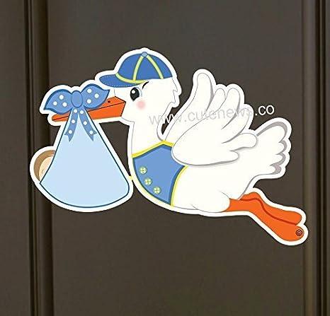 Amazon Its A Boy Stork Baby Door Hanger Welcome New Baby