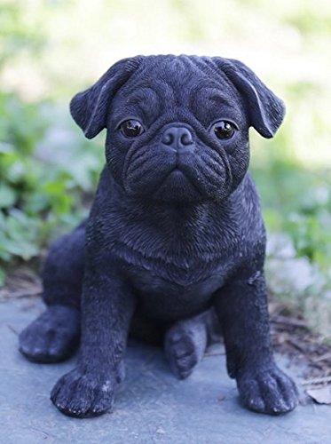 Hi-Line Gift Ltd. チワワ子犬像 庭に 87771-U B01C2CO0LS Pet Pals Pug Puppy Statue Pet Pals Pug Puppy Statue