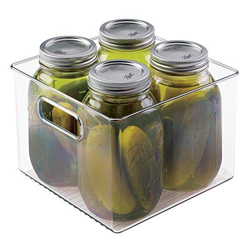 mDesign Mason Canning Storage Holds