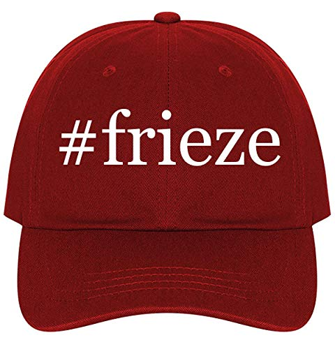 #Frieze - A Nice Comfortable Adjustable Hashtag Dad Hat Cap, Red, One Size