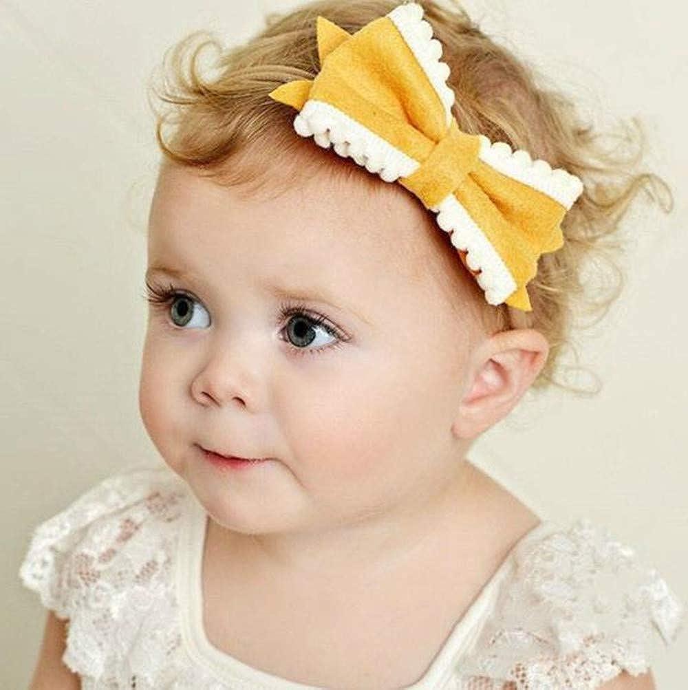 Baby Kinder Stirnband KNOTEN Schleife Haarband Mädchen Haarschmuck
